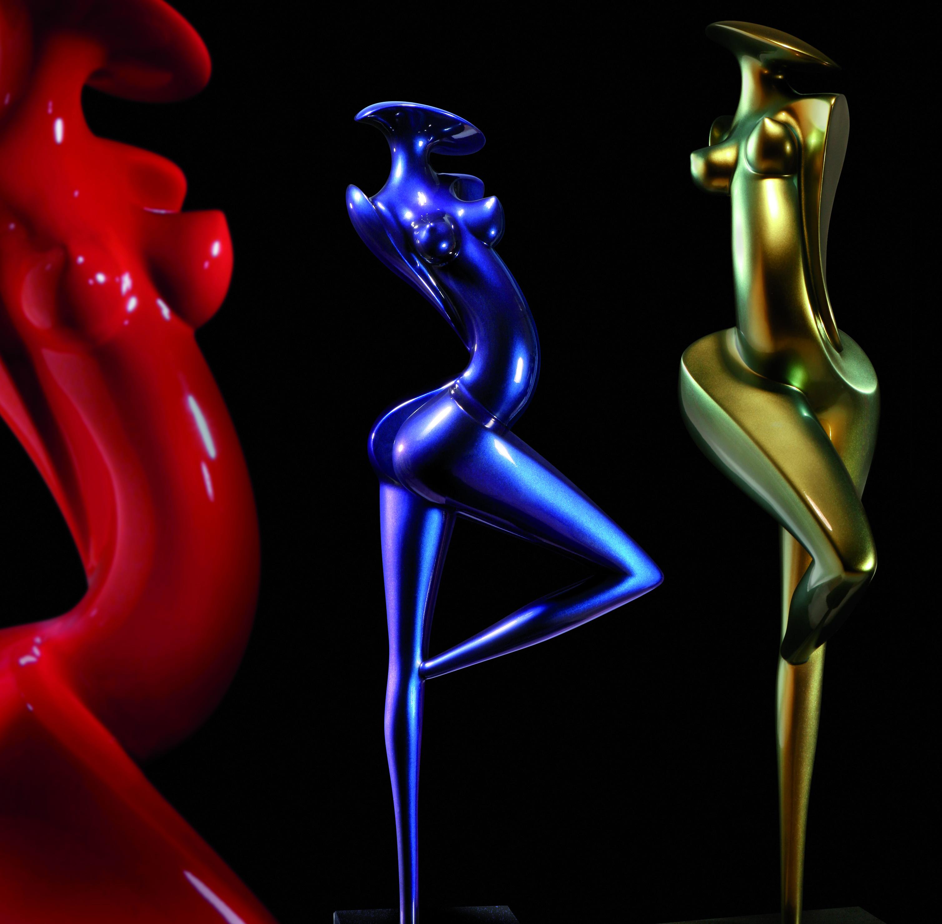 Sculptures en carbone de Marion Bürklé