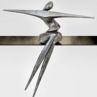 Océane, sculpture bronze de Marion Bürklé