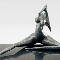 Provocation, sculpture en bronze de Marion Bürklé